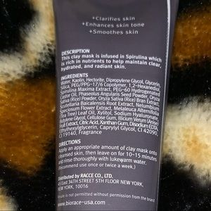 Biorace Makeup - 🆕 Biorace Pore Purifying Clay Mask deluxe sample